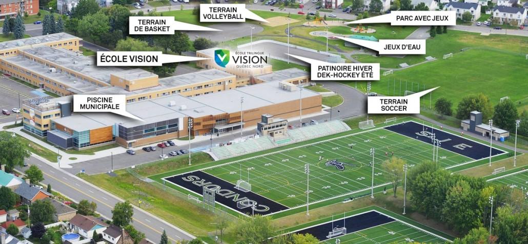Ecole Vision | Ouverture de l'École Vision Québec Nord